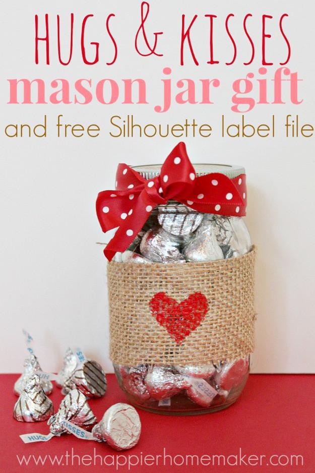 Valentines Gift Ideas  54 Mason Jar Valentine Gifts and Crafts