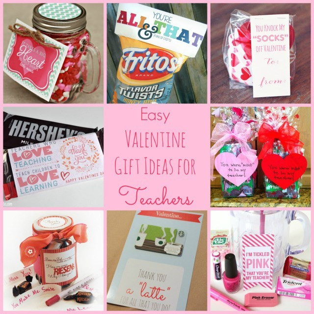 Valentines Gift Ideas  Easy Valentine Gift Ideas for the Teacher Happy Home Fairy