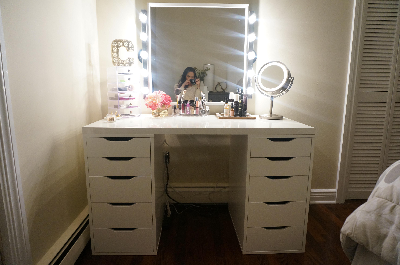 Vanity Plans DIY  DIY Makeup Vanity