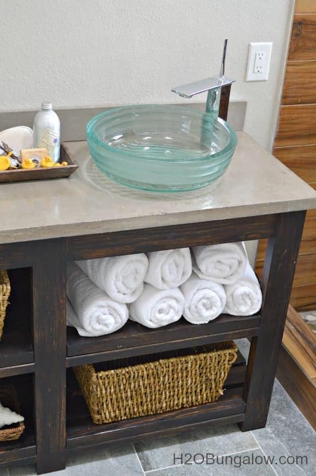 Vanity Plans DIY  7 Chic DIY Bathroom Vanity Ideas For Her