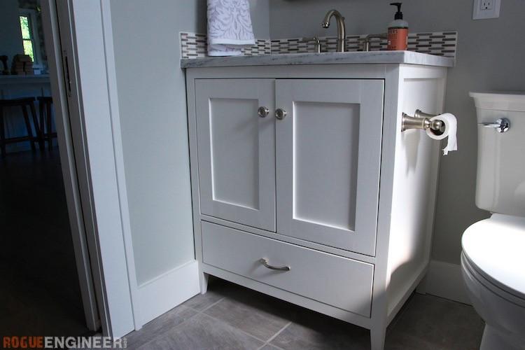 Vanity Plans DIY  30in Bathroom Vanity Rogue Engineer