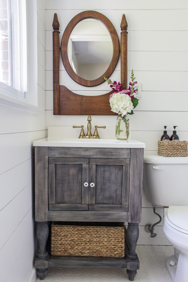 Vanity Plans DIY  Ana White