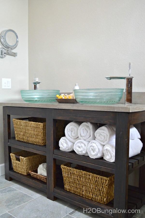 Vanity Plans DIY  Creative DIY Bathroom Vanity Projects • The Bud Decorator