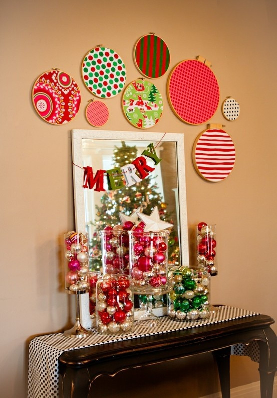 Wall Decor For Christmas  40 Quick & Easy Christmas Wall Decorations Ideas