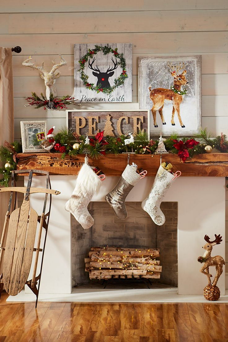 Wall Decor For Christmas  Best 25 Christmas wall decorations ideas on Pinterest