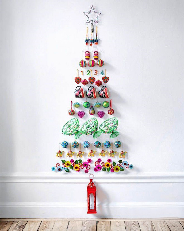 Wall Decor For Christmas  11 Awesome And Unique Christmas Tree Ideas For This Year
