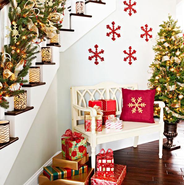 Wall Decor For Christmas  Scandinavian Christmas decorations – 8 main features