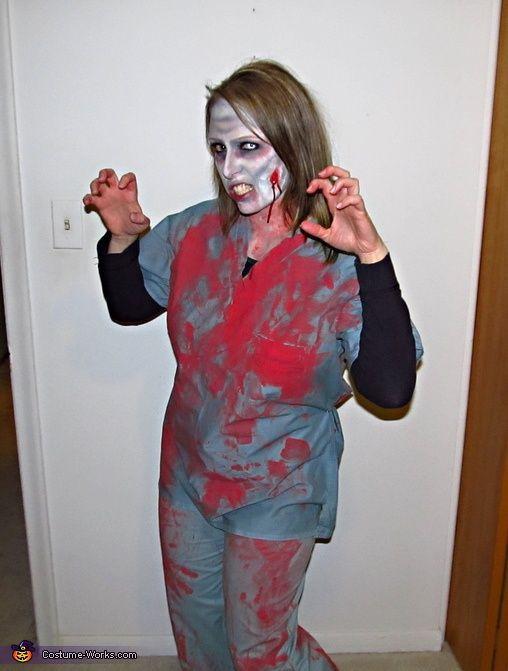 Zombie DIY Costume  Homemade Zombie Costume Ideas for Women