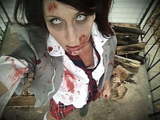 Zombie DIY Costume  Theresa Joy 365 Days of Pinterest Day 24 DIY ZOMBIE