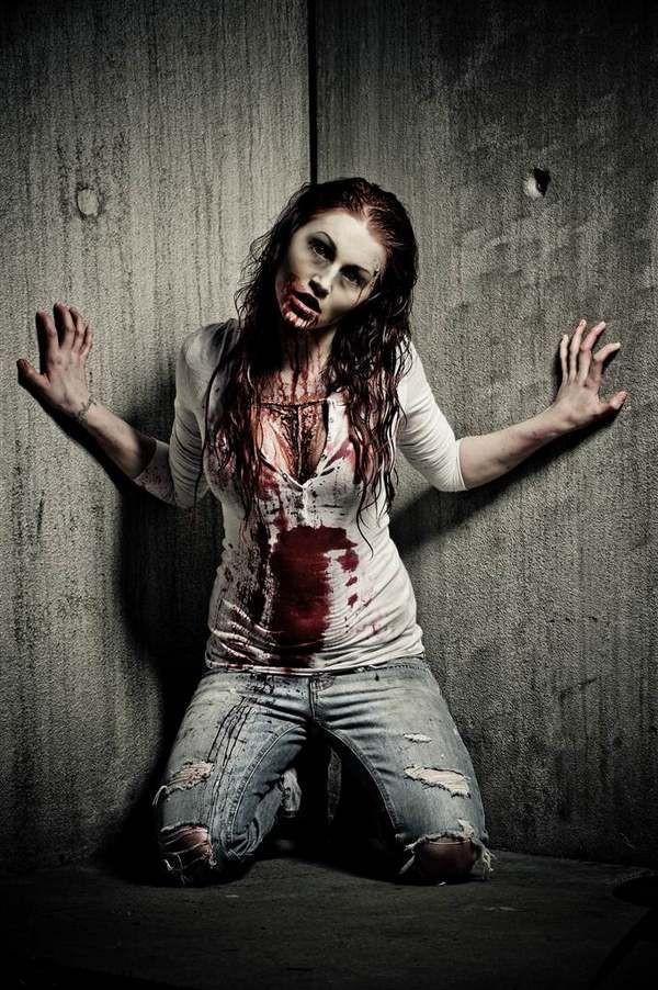 Zombie DIY Costume  Best 25 Zombie costume women ideas on Pinterest
