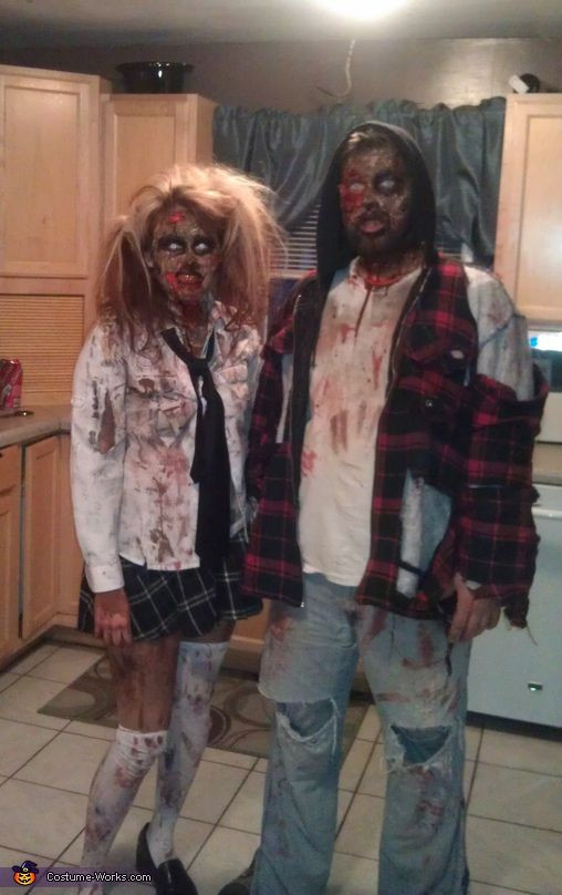 Zombie DIY Costume  352 best Costumes images on Pinterest