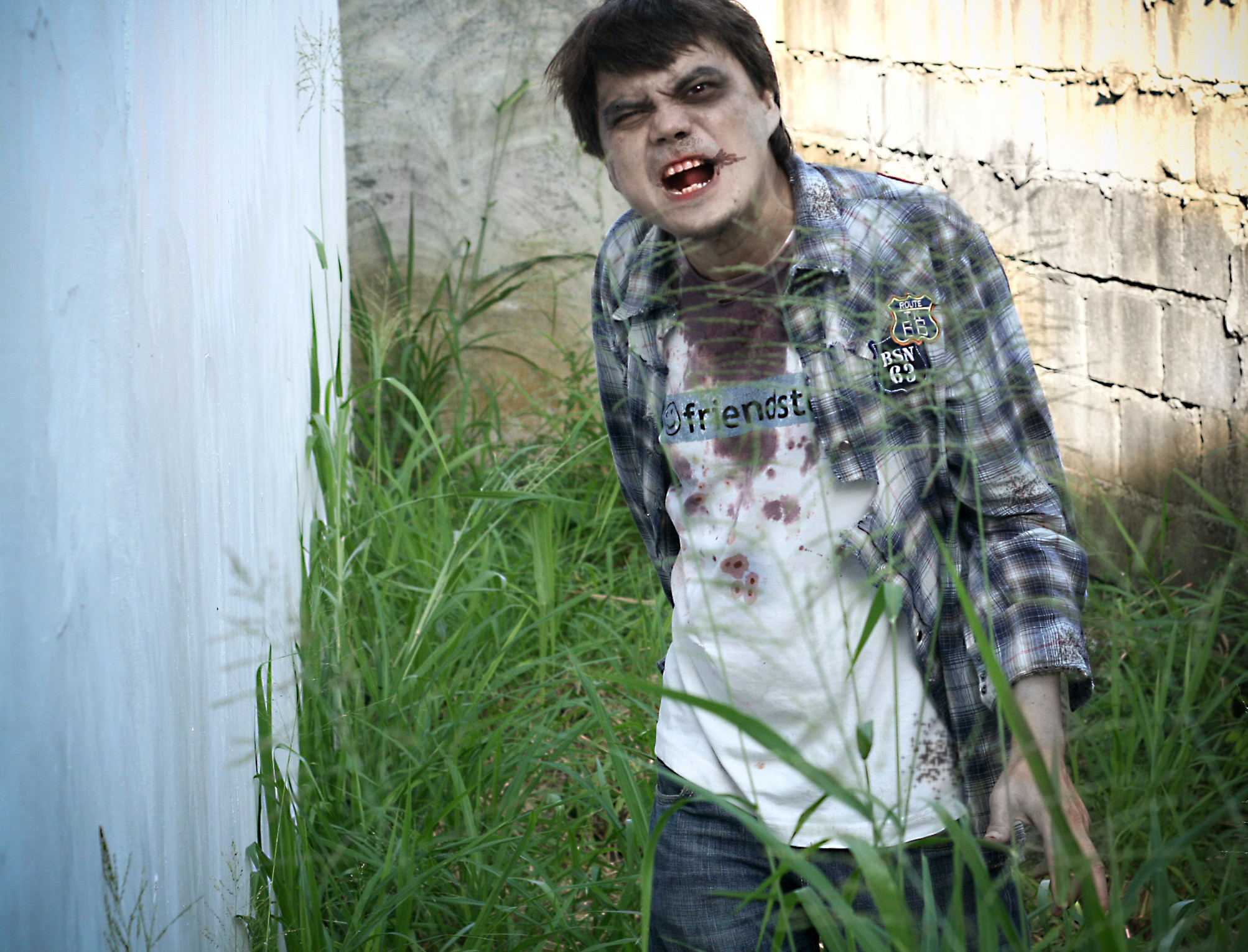 Zombie DIY Costume  How to Create a Zombie Costume 12 Steps with