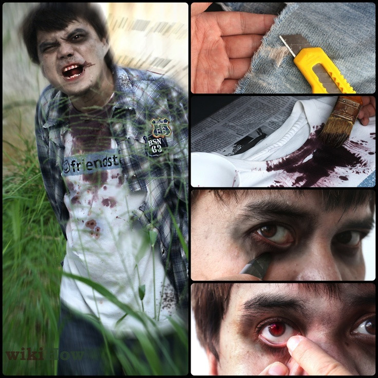 Zombie DIY Costume  1000 ideas about Kids Zombie Costumes on Pinterest